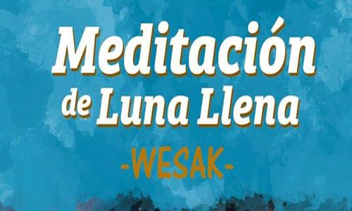 Course Image Meditación Luna Llena de WESAK